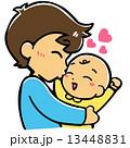 赤ちゃんloveパパ 13448831