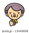 アイコン フェイス・シリーズ 13449606
