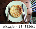 Pancake in wood background 13458901
