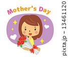 母の日 ベクター 花束のイラスト 13461120