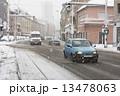 車 雪 運転の写真 13478063