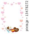 バレンタインデー ハート バレンタイン 13478272