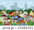 Suburban houses 13484161