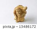 木彫り 大黒天 置物の写真 13486172