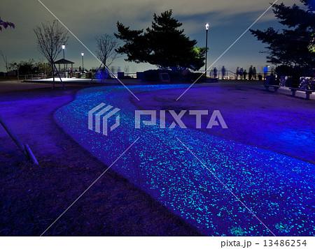 摩耶山 掬星台の光る歩道 13486254