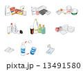 ゴミ分別収集(プラスチック包装) 13491580