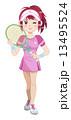 テニスガール 13495524