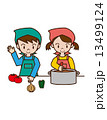 調理実習 13499124