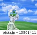 女性の頭脳・地球環境の風景 13501411