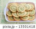 抹茶の渦巻きクッキー 13501418