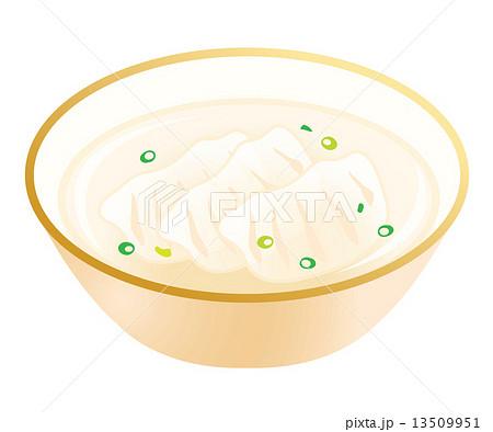 水餃子のイラスト素材 13509951 Pixta