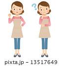女性 主婦 表情 セット 13517649