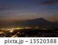 盛岡 夜景 夕暮れの写真 13520388