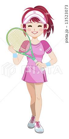 テニスガール 13523073