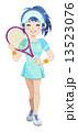テニスガール 13523076