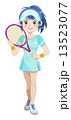 テニスガール 13523077