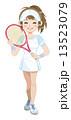 テニスガール 13523079