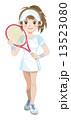 テニスガール 13523080