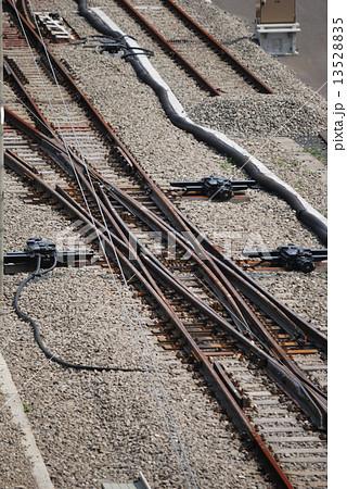 鉄道線路のダブル・スリップ・スイッチ 13528835