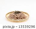 ざるそば 麺類 蕎麦の写真 13539296