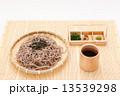 ざるそば 麺類 蕎麦の写真 13539298