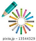 色鉛筆 13544329