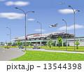 福岡空港国際線ターミナルビル 13544398