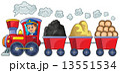 物質 素材 電車のイラスト 13551534
