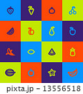 Seamless fruits pattern 13556518