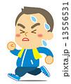 ダイエットで走る男性 13556531