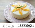 桃のレアチーズケーキ 13556921