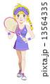 テニスガール 13564335