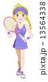 テニスガール 13564338
