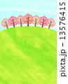 春の丘 13576415