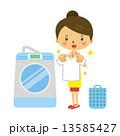 洗濯物 洗濯機 Tシャツ 13585427