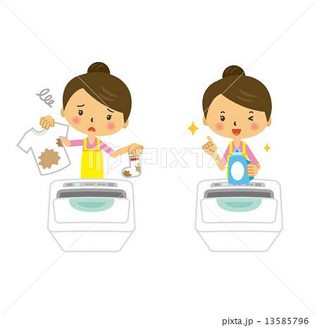 洗濯 洗濯物 主婦 家事 13585796