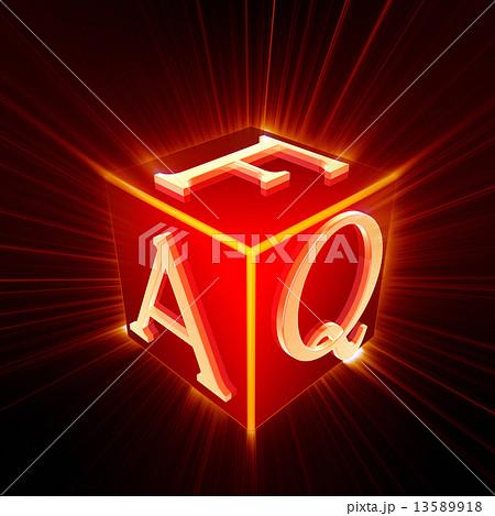 FAQ cube with shine 13589918