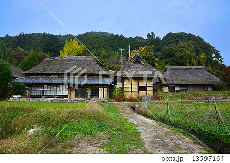 加賀美 八塔寺ふるさと村の写真素材 [13597164] - PIXTA