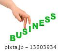 階段 手 ビジネスの写真 13603934