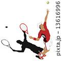 テニス 13616996