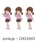 女の子 ポーズ 13623003