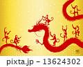 ドラゴン ベクター 龍のイラスト 13624302