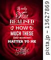 Valentines day vector 13627869