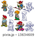 男児キャラクター 13634609