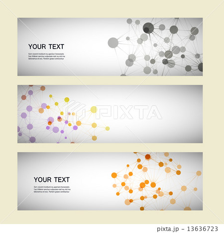 Vector color network connection and DNA atomのイラスト素材 [13636723] - PIXTA