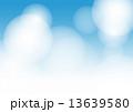 水色 青 ぼかし 13639580