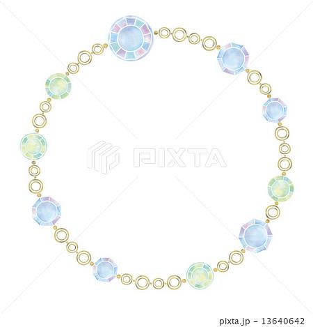 ネックレスのイラストのイラスト素材 [13640642] , PIXTA