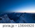 涸沢岳山頂から望む穂高連峰 13644920