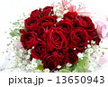 ハート型 花束 ハートの写真 13650943