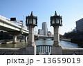 淀屋橋 街灯 レトロの写真 13659019